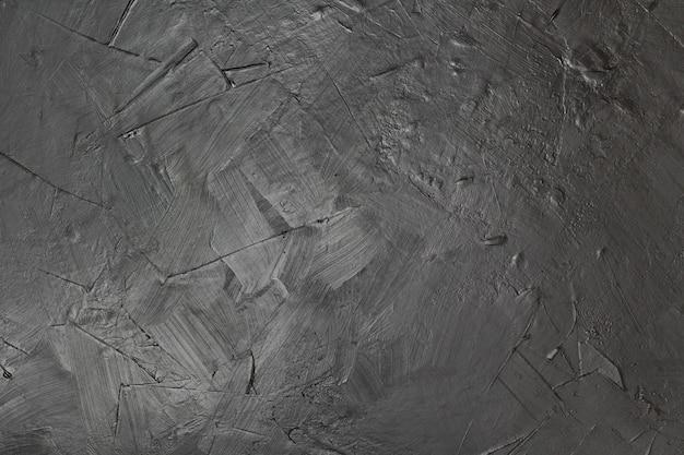 芸術的な黒いペンキテクスチャ背景 無料写真