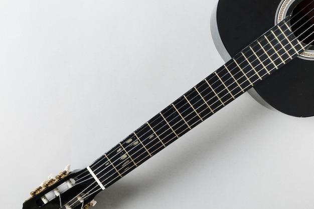 ギターの上から見る 無料写真