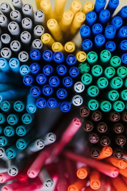 Набор разноцветных ручек Бесплатные Фотографии