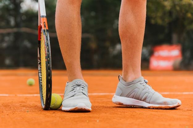 Ноги теннисиста Бесплатные Фотографии