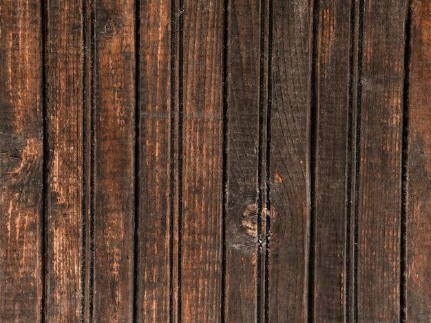 暗い木製のテクスチャパターンの壁 無料写真