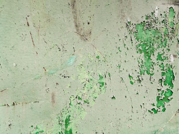 皮をむいた古い壁の背景 無料写真