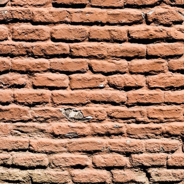 茶色のレンガの壁の詳細 無料写真