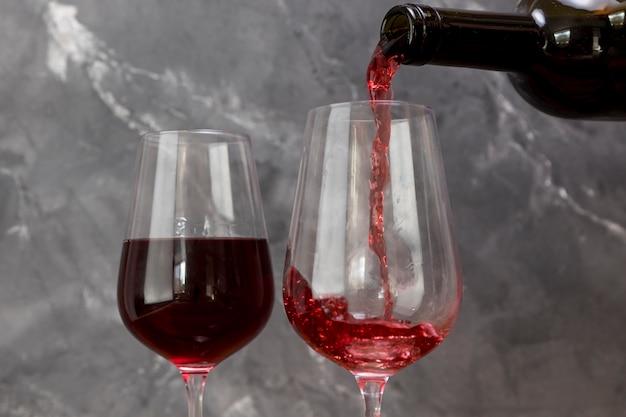 ワイングラス充填ワイングラス 無料写真