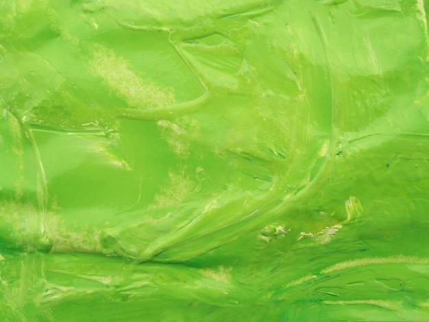 緑色のアクリル色の背景 無料写真