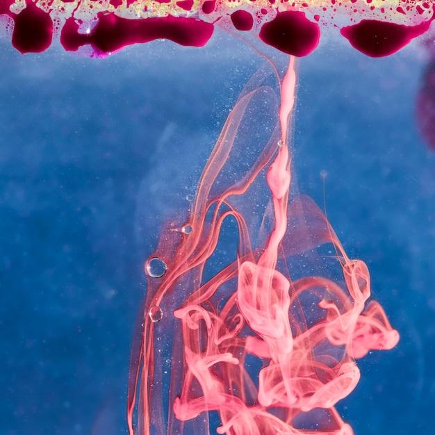 抽象的な水中ドレスのコンセプト 無料写真