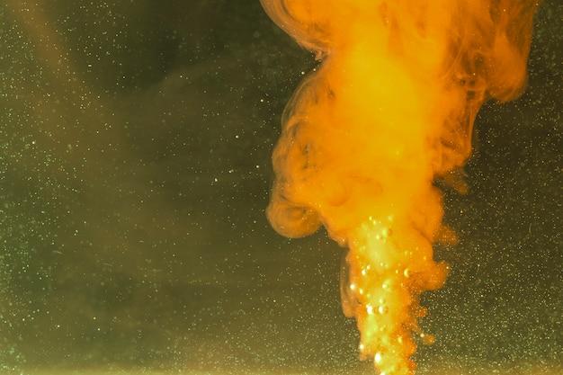 強力な炎と抽象的な夜空 無料写真