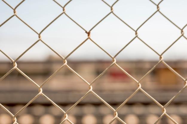 クローズアップチェーンリンクフェンス 無料写真