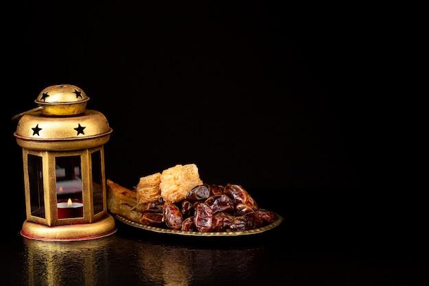 正面新年のイスラムの品揃え 無料写真