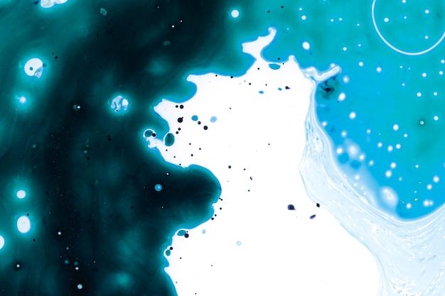油の宇宙の抽象的な銀河 無料写真