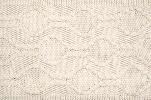 ウールのかぎ針編みパターンのフラットレイ 無料写真
