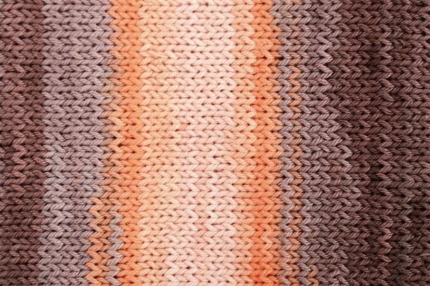 かぎ針編みウールの平干し 無料写真
