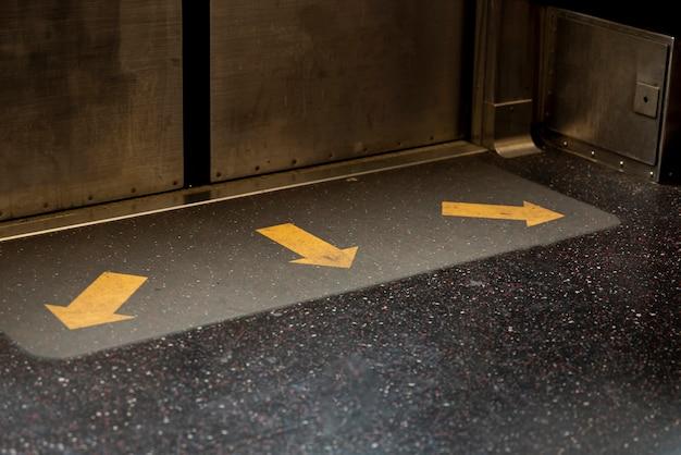地下鉄のドアのクローズアップ 無料写真