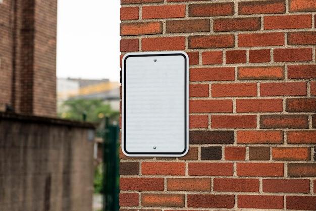 コピースペースの看板 無料写真