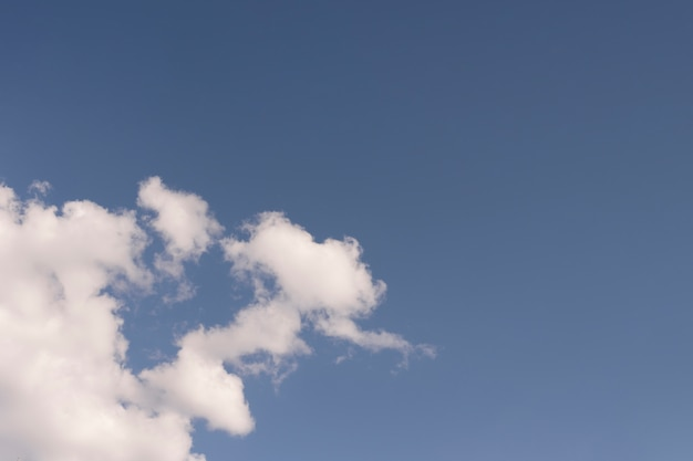 Красивое небо с белыми облаками Бесплатные Фотографии