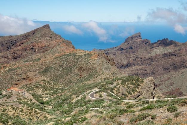 Красивая дорога через горы Бесплатные Фотографии