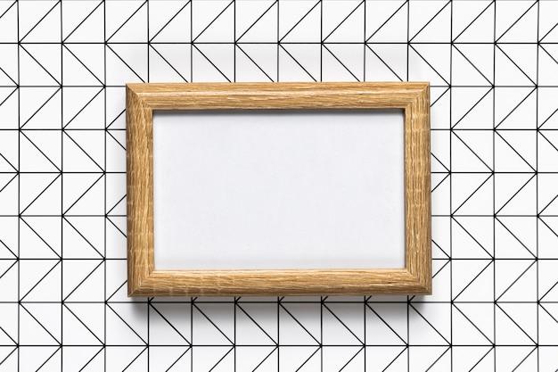 Ретро деревянная рамка с рисунком фона Бесплатные Фотографии