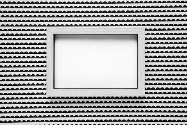 モノクロ背景モックアップとフレームモックアップ 無料写真