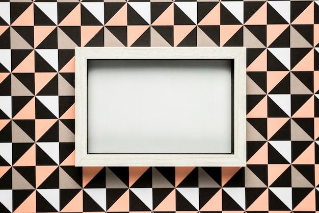 Пустая рамка на фоне рисунка Бесплатные Фотографии
