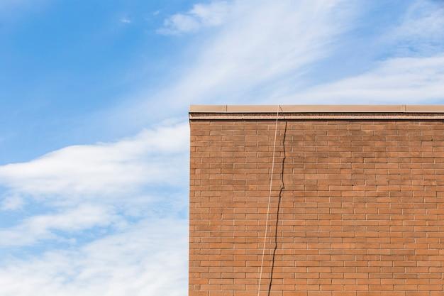 古いれんが造りの建物のスカイライン 無料写真