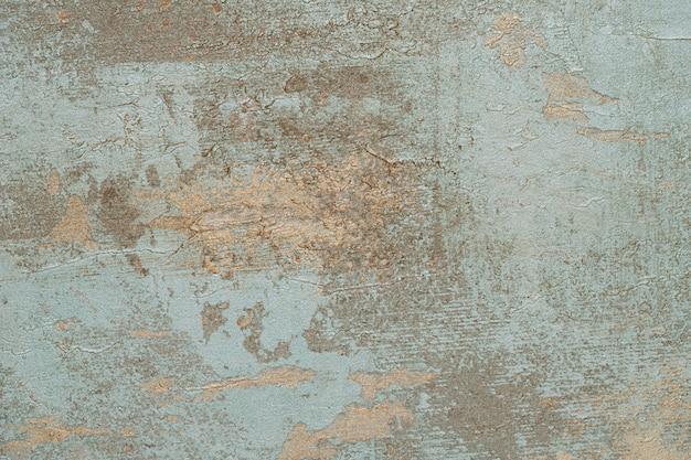 Старый синий бетонный фон с трещинами Бесплатные Фотографии