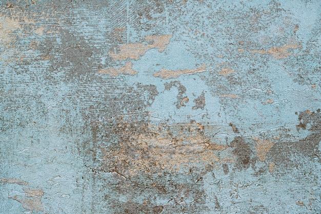 古い青いコンクリート背景 無料写真