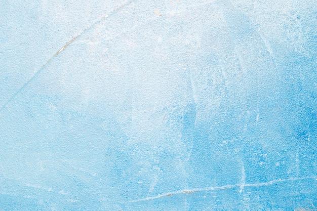 青いコンクリートの壁の背景 無料写真