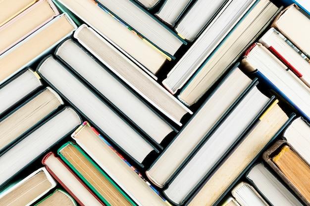 Расположение сверху с книгами Бесплатные Фотографии