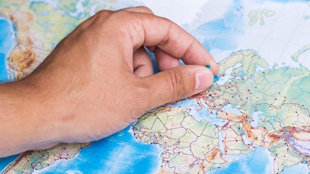 ヨーロッパの場所を特定する 無料写真