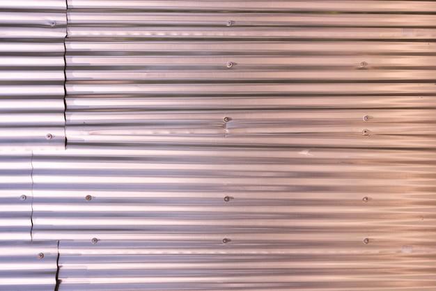 金属パネルの壁の背景 無料写真