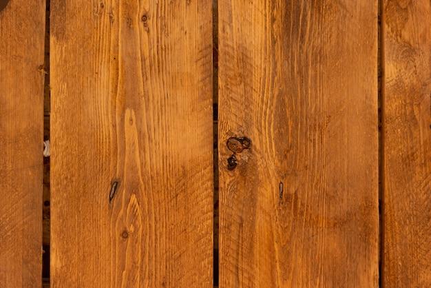 織り目加工の茶色の木製の壁の背景 無料写真