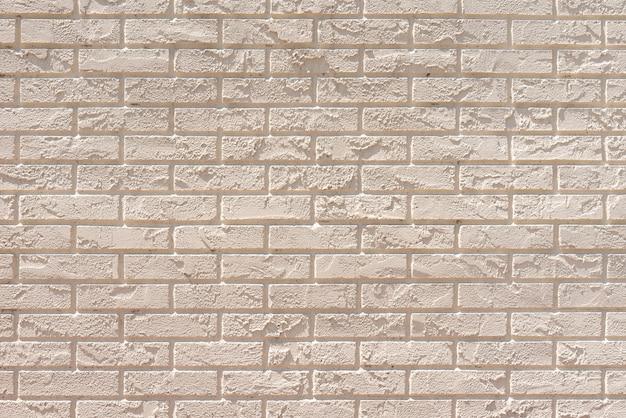 白いレンガ壁の背景 無料写真