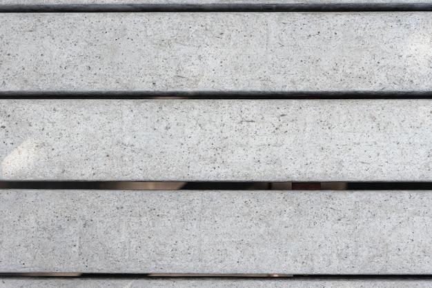 シンプルなグレーの木製のフェンスの背景 無料写真