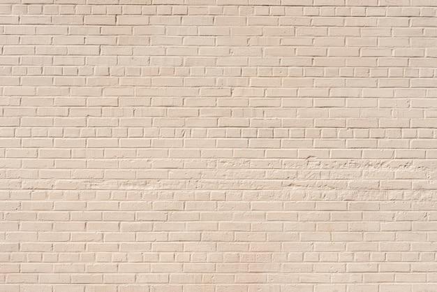 抽象的な白いレンガ壁の背景 無料写真
