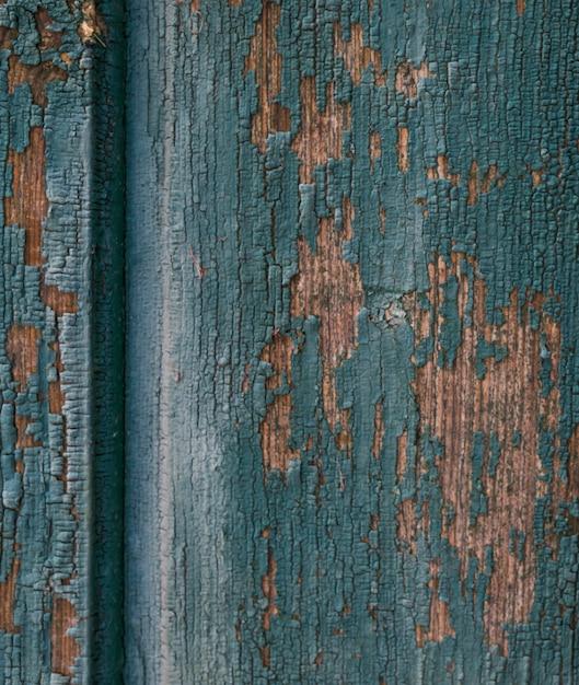 古い傷ドアのビュー 無料写真