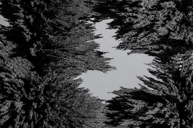 磁気金属シェービング背景のクローズアップの抽象的な背景 無料写真