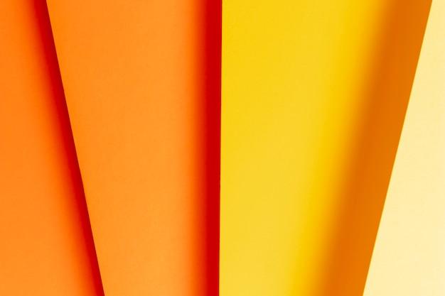 Плоская планировка из разных оттенков теплых тонов крупным планом Бесплатные Фотографии