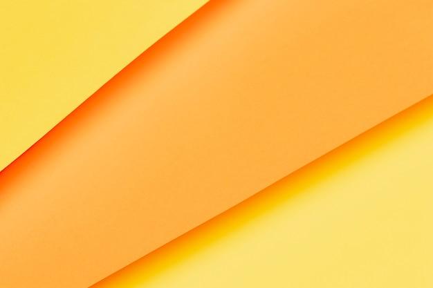 Различные оттенки оранжевой бумаги крупным планом Бесплатные Фотографии