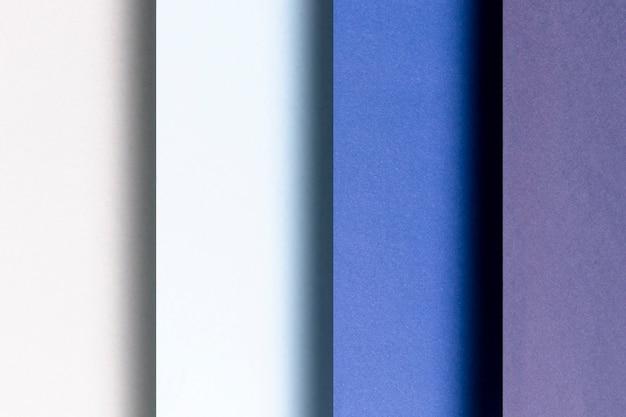 青のパターンのさまざまな色合い 無料写真