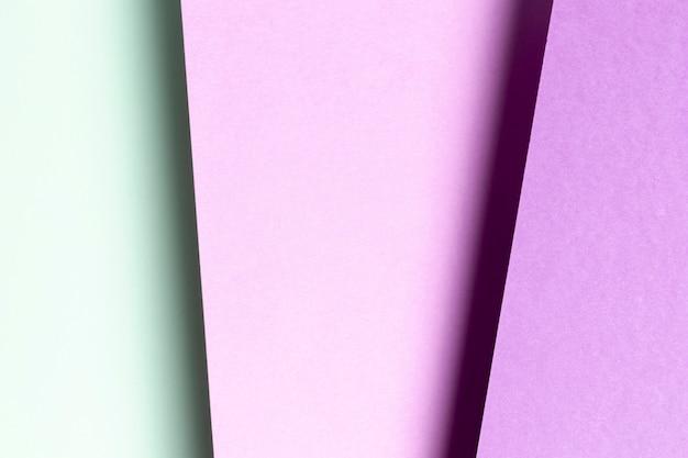 フラットレイアウトの青と紫のパターン 無料写真