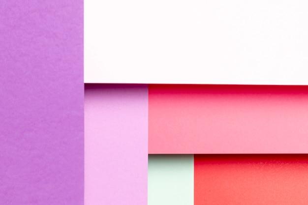 さまざまな色合いの平面図パターン 無料写真