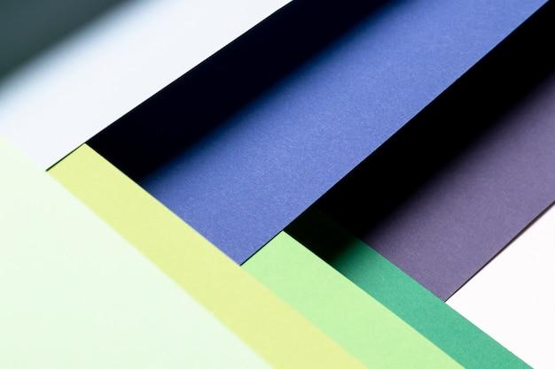 フラットレイアウトクールな色パターン 無料写真