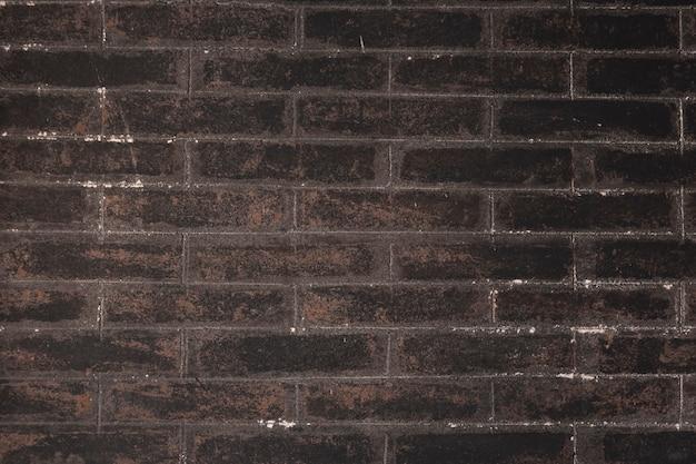 コピースペースの背景とカラフルなレンガ壁のシームレスパターン 無料写真