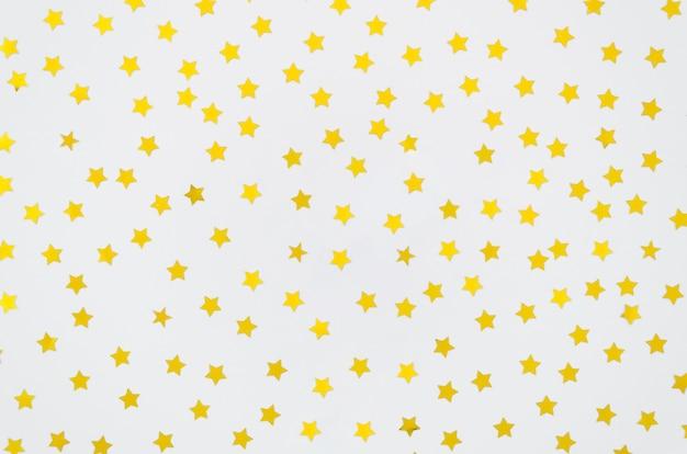 Желтые звезды на белом фоне Бесплатные Фотографии