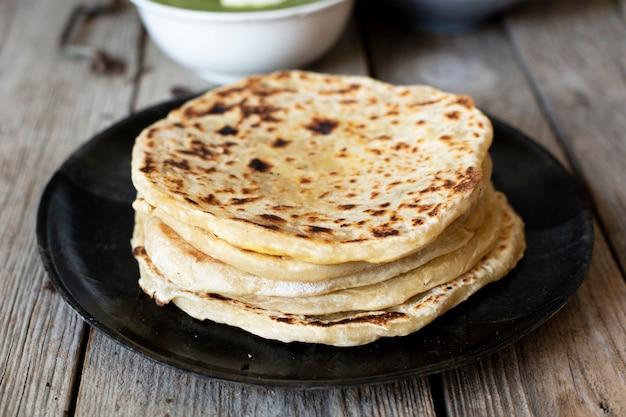 インド風のパン 無料写真