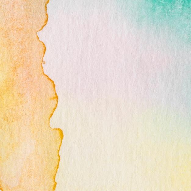 Бумажное пятно на фоне абстрактных акварельных чернил Бесплатные Фотографии