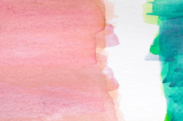 Контрастные цвета ручной росписью пятно на белой поверхности Бесплатные Фотографии