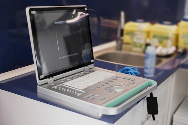 獣医クリニックでの機械の手配 無料写真