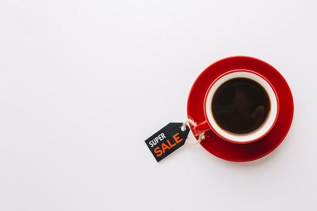 ブラックフライデーセールとコーヒー 無料写真