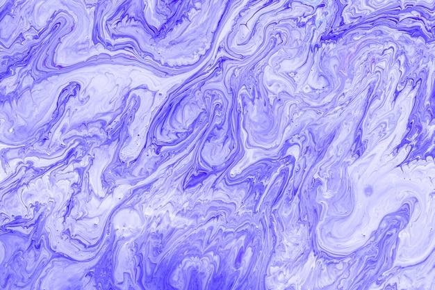 Смешанная красочная акриловая картина крупным планом Бесплатные Фотографии